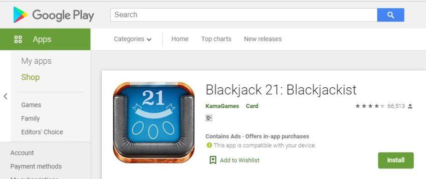Anda Bisa Mencoba Blackjack 21: Blackjackist Jika Sangat Bosan Berada di Rumah