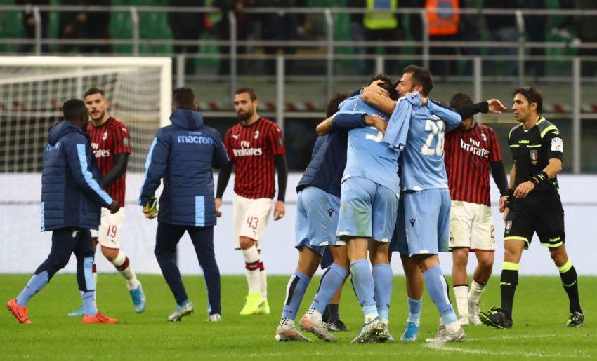 Inilah Hasil Liga Serie-a: Hasil Milan Vs Lazio